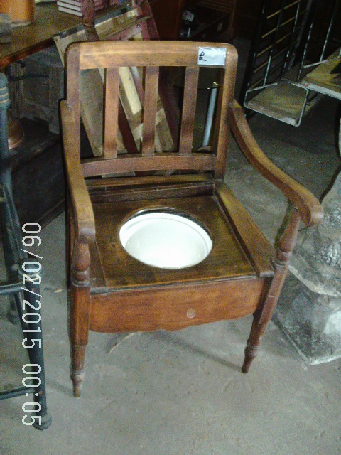 Antique Commode Potty Chair