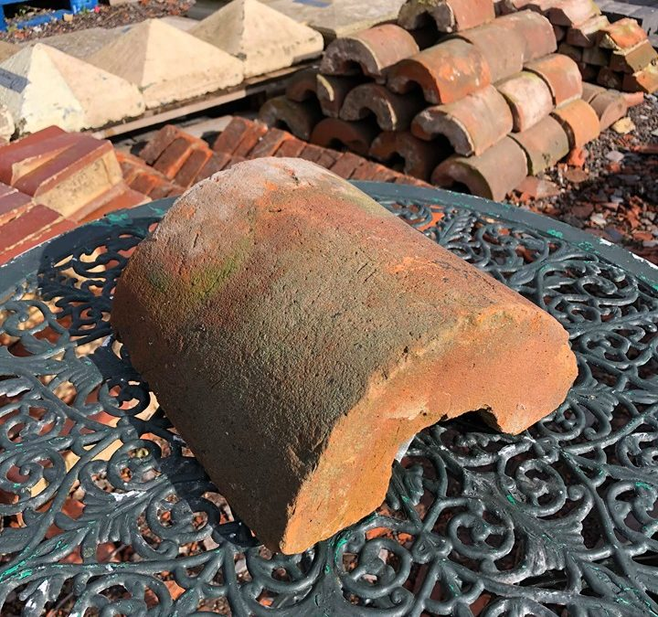 Vintage Red Terracotta Brick Coping Stones