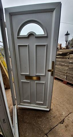 UPVC Front Door Ref:K45