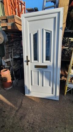 UPVC Front Door Ref:K90