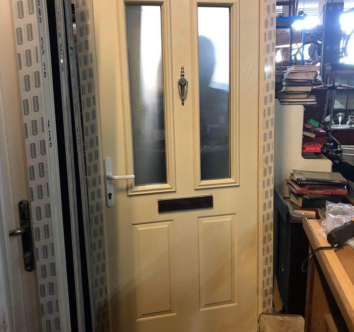 New UPVC Composite Front Door – Ref 46