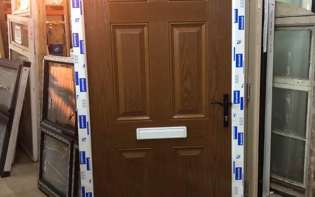 New UPVC Composite Front Door – Ref 44