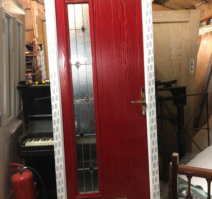 New UPVC Composite Front Door – Ref 48
