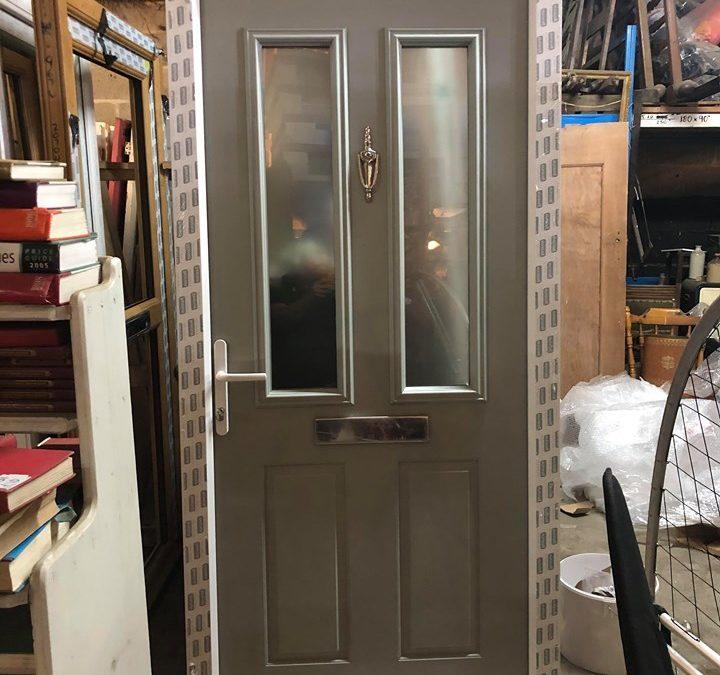 New UPVC Composite Front Door – Ref 47