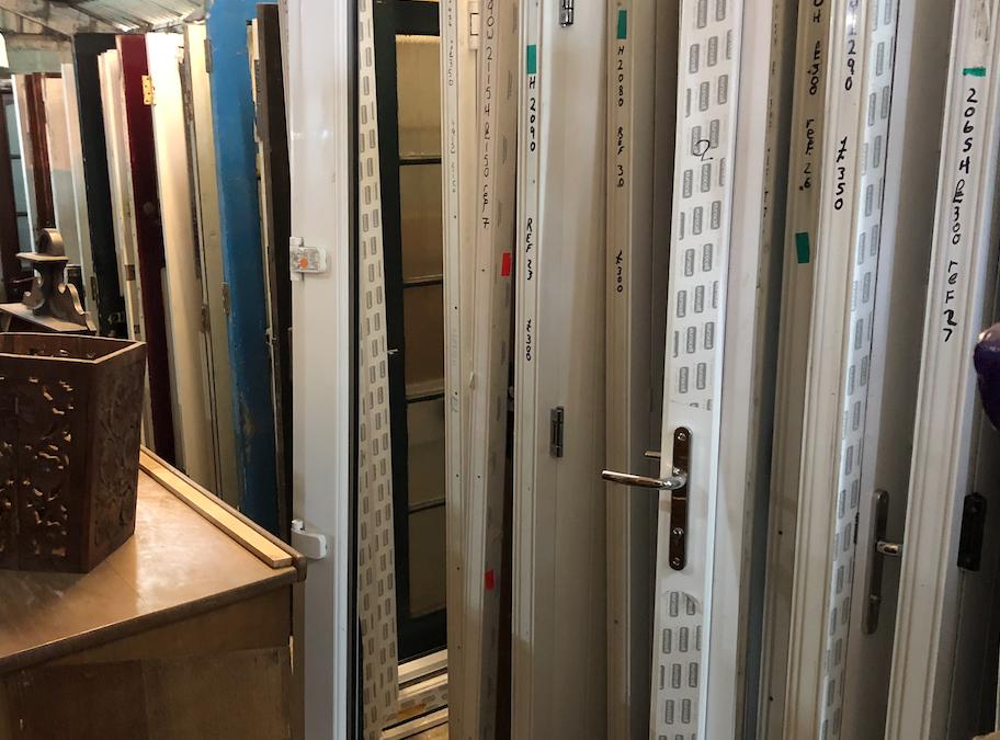New UPVC Unglazed Door – Ref T7