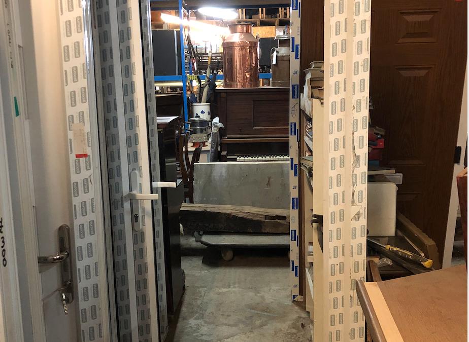New Unglazed UPVC Door – Ref 31
