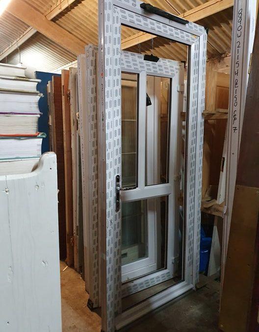 New UPVC Door Ref:T15