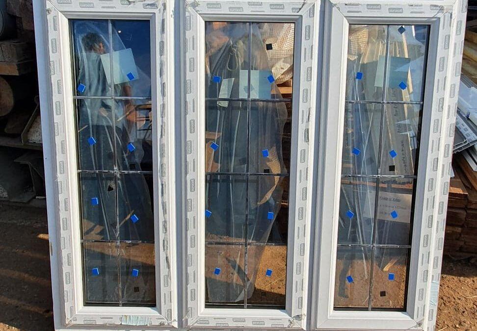 New UPVC Window Ref:J4
