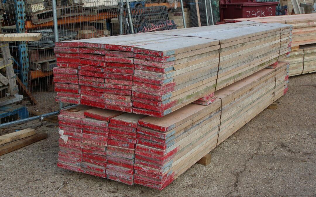 Reclaimed 13ft Scaffold Boards