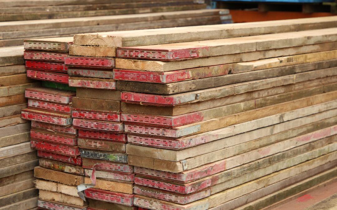 Reclaimed 10ft Scaffold Boards