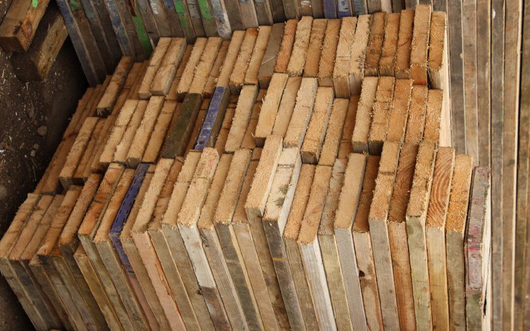 Reclaimed 8ft Scaffold Boards