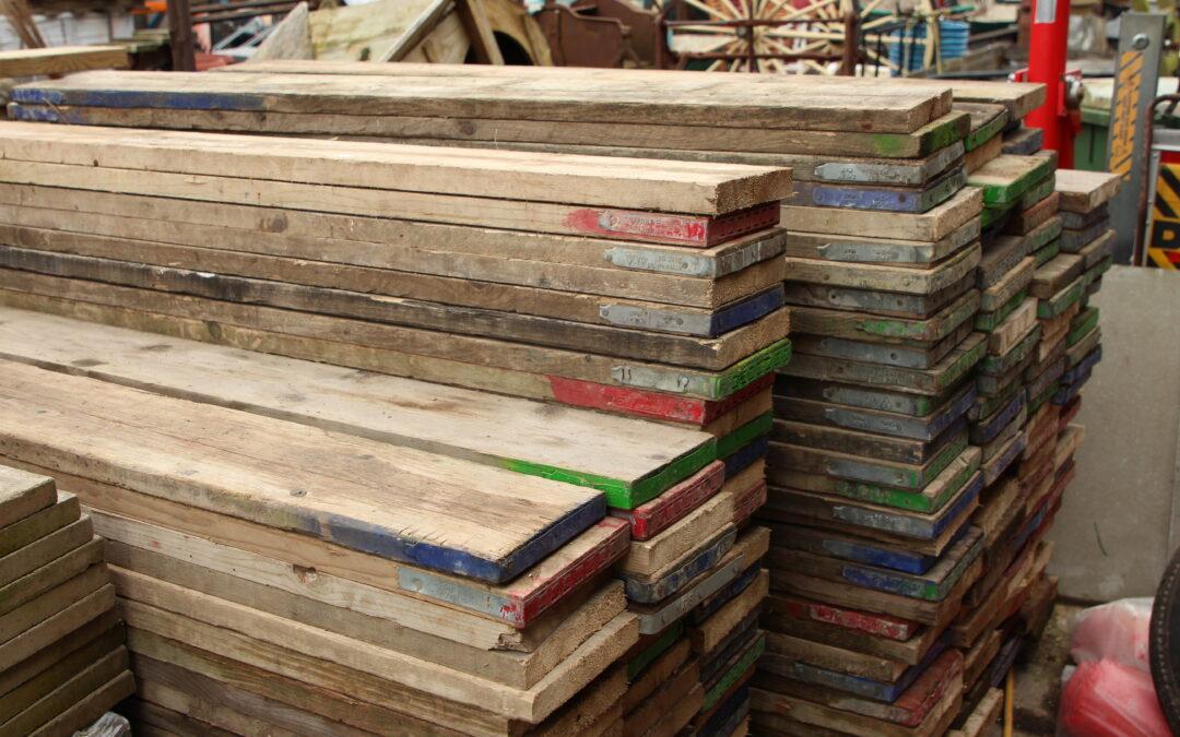 Reclaimed 6ft Scaffold Boards