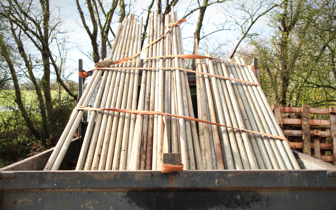 Reclaimed Scaffold Poles/Tubes