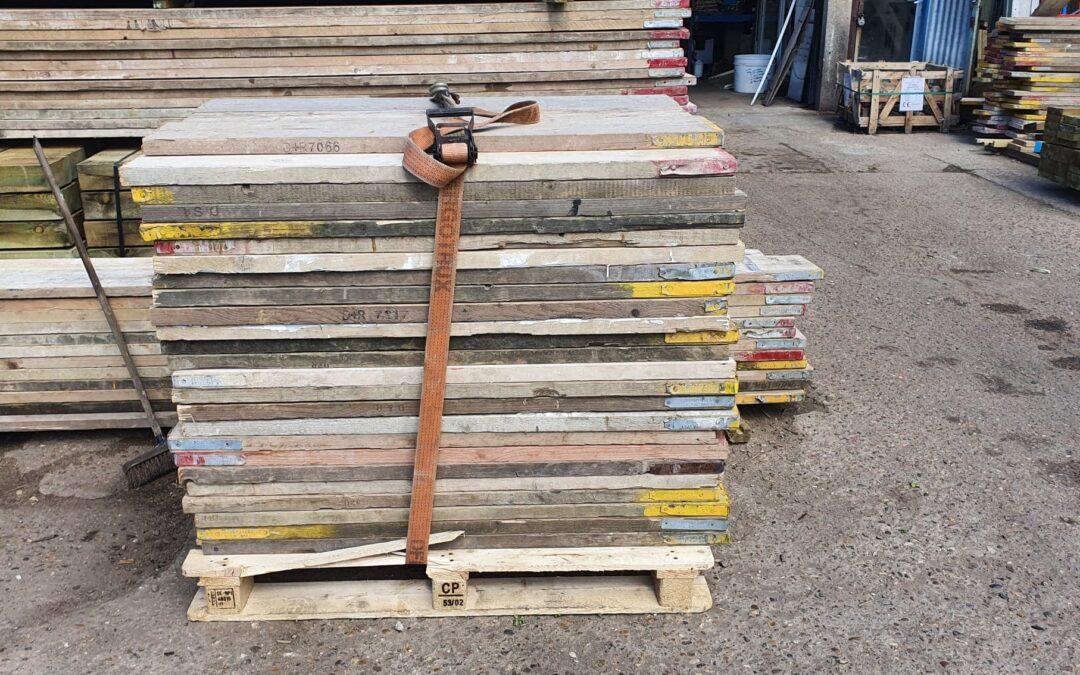 Reclaimed 4ft Scaffold Boards