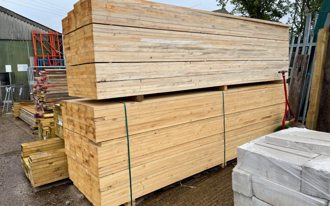 New 13′ Unbanded Scaffold Boards