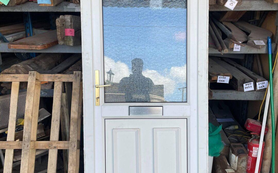 Used UPVC Front Door – 935mm x 2115mm