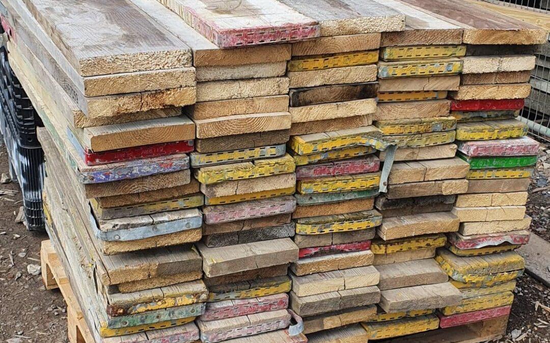 3ft Reclaimed Scaffold Boards