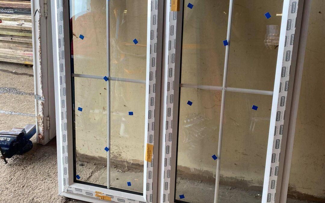 New UPVC Window Ref:A24