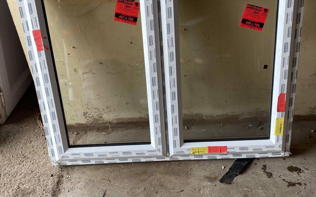 New UPVC Window Ref:A27