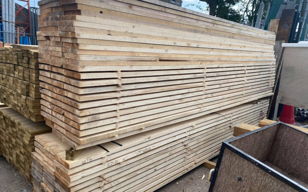 New 13ft Unbanded Scaffold Boards
