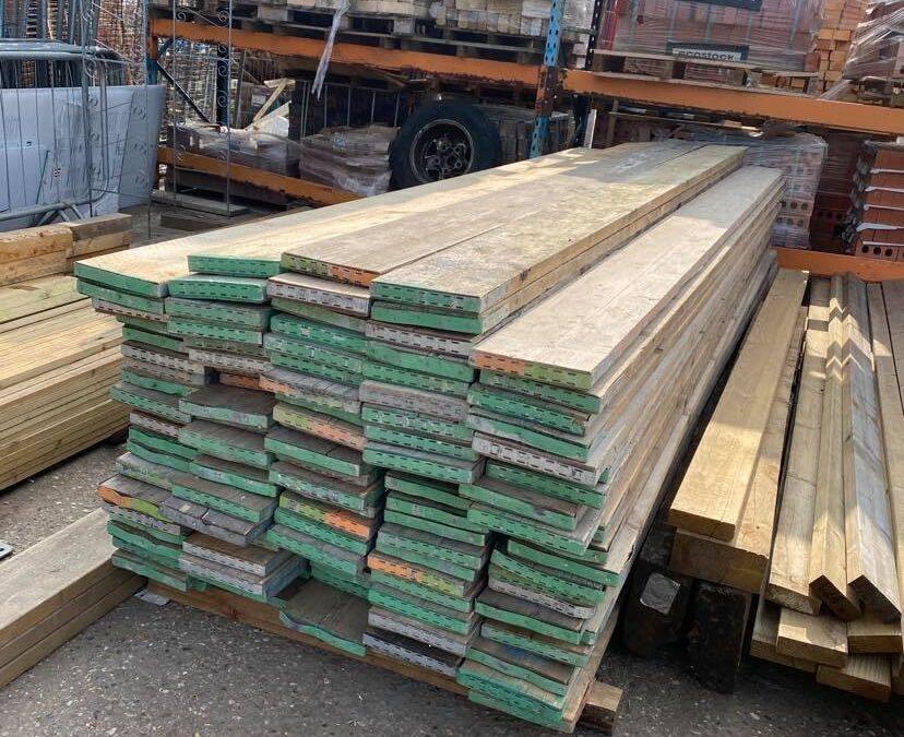 13ft Reclaimed Scaffold Boards